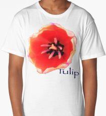 Flower, Garden, Tulip, Design Long T-Shirt