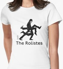 The Rolistes Podcast - Silly Walk (Mono) Fitted T-Shirt