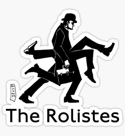The Rolistes Podcast - Silly Walk (Mono) Sticker