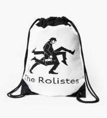 The Rolistes Podcast - Silly Walk (Mono) Drawstring Bag