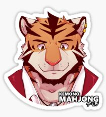 Khan the Tiger Sticker