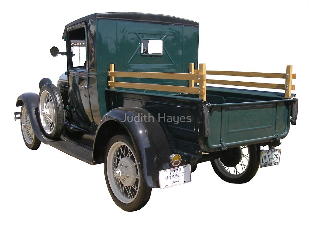 Model A by Judith Hayes