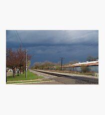 Stormy Saturday Photographic Print