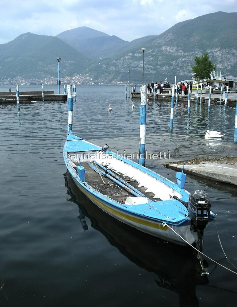 A boat by annalisa bianchetti