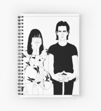 Nick and Susie Cave Spiral Notebook