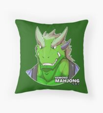 Haruto the Dragon Throw Pillow
