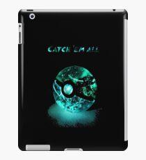 poke-glow iPad Case/Skin