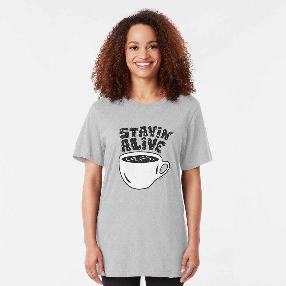 Stayin' Alive Slim Fit T-Shirt