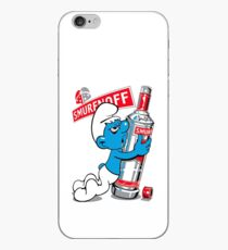 Smurfnoff iPhone Case