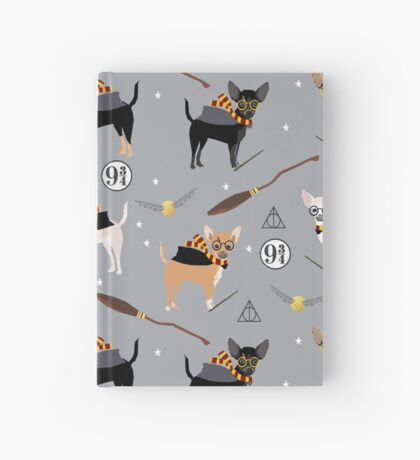 chihuahua witch wizard magical dog breed gifts Hardcover Journal