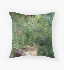 Impression of Greens Throw Pillow