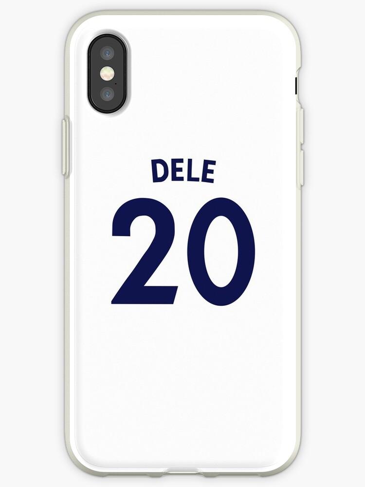 best website 54826 1f57d 'Dele Alli Tottenham Shirt Illustration' iPhone Case by DJD Design