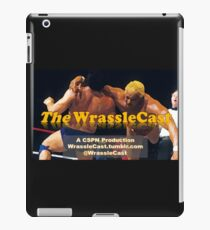 The WrassleCast logo iPad Case/Skin