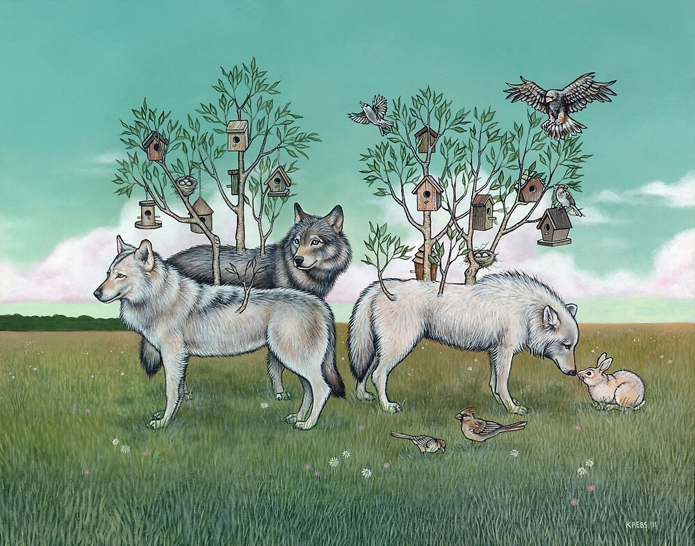 Lodgings (Print) by Tara Krebs