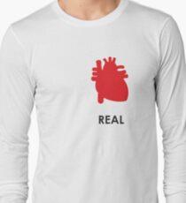 Reality - White Long Sleeve T-Shirt