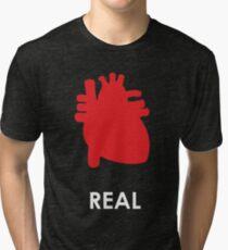 Reality - Black Tri-blend T-Shirt