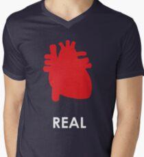 Reality - Black Mens V-Neck T-Shirt