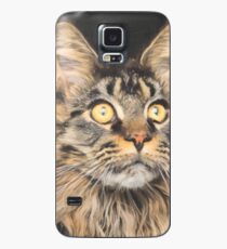 Maine Coon Cat Art Case/Skin for Samsung Galaxy