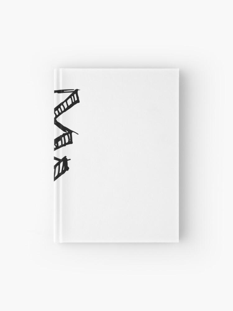 4940c867b9 Cuaderno de tapa dura «bosquejo relámpago» de Sandis008 | Redbubble
