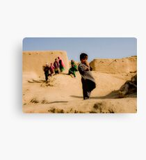 Children of Heaven Exhibition - The Protective Brother Canvas Print