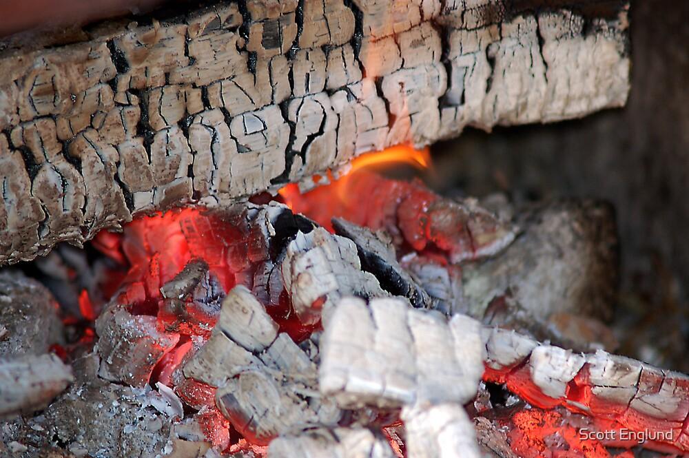 The camp fire by Scott Englund