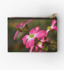 Red Flowering Dogwood Bloom Studio Pouch