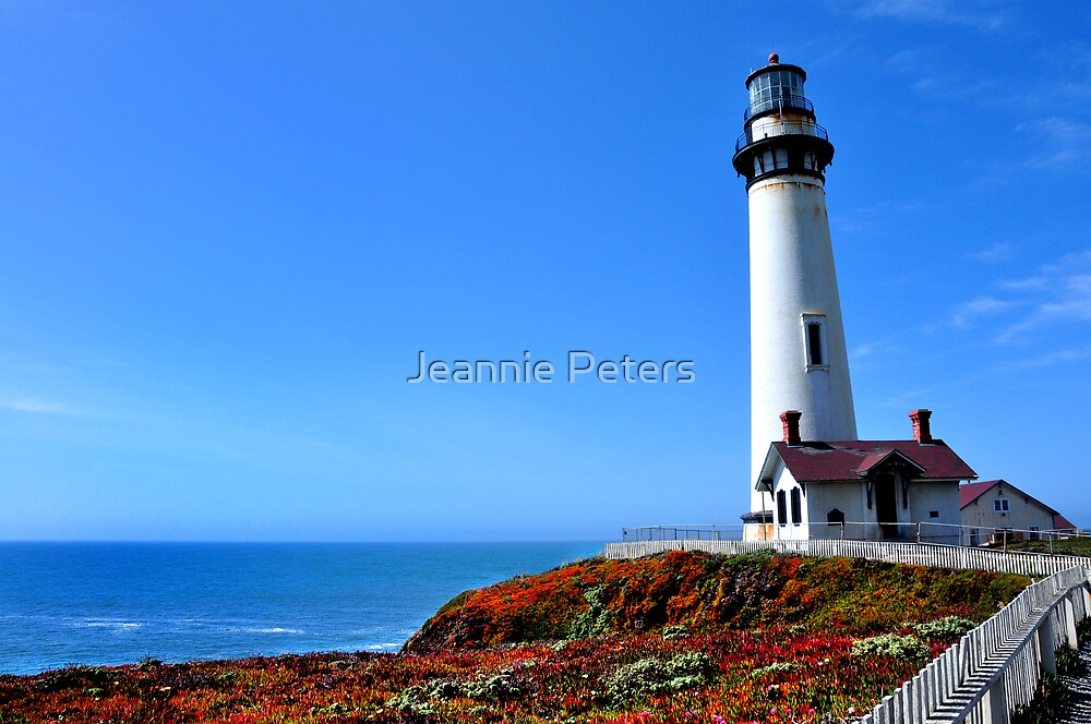 Lighthouse by Jeannie Peters