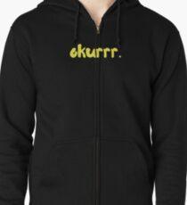 Okurrr by Cardi B Zipped Hoodie
