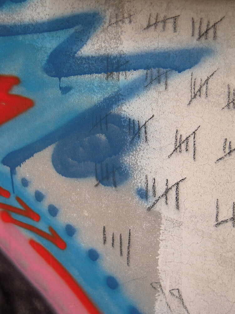 Graffiti Detail by Marc Sullivan