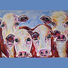 Ladies in Red by TraceyMackieArt