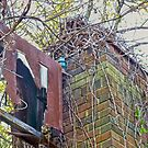 Abandoned Amusement Park Entrance Sign by Cheri Sundra