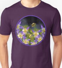 Colorado Blue Columbine Unisex T-Shirt