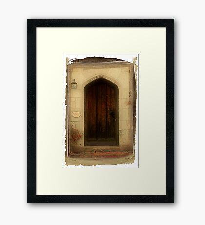 Door#2 Framed Print