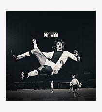 Johan Cruyff Photographic Print