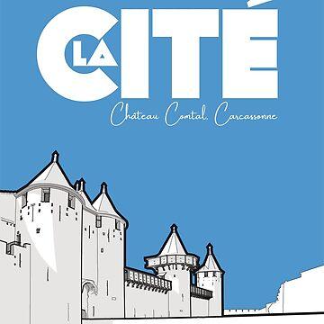 Cité de Carcassonne - Château Comtal by ElevenTwoNinety