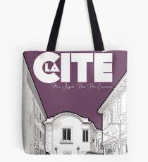 Cité de Carcassonne - Place Auguste Pierre Pont Tote Bag