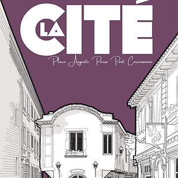 Cité de Carcassonne - Place Auguste Pierre Pont by ElevenTwoNinety