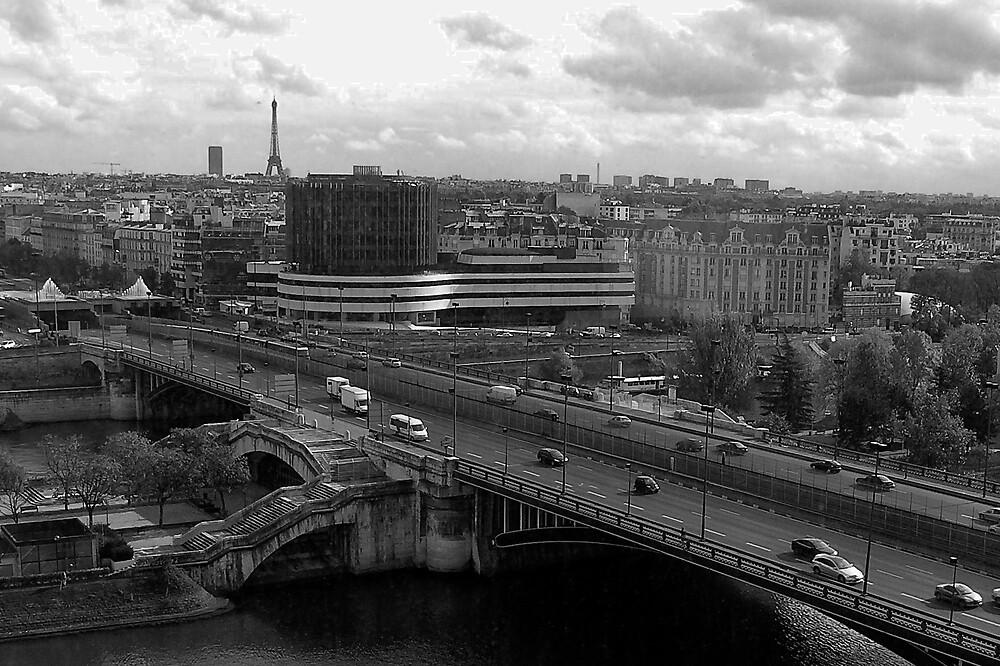 Pont de Neuilly, Paris by Steve Rhodes