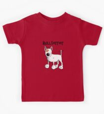Fluffy Bullterrier - Bull Terrier - Dog - Dogs - Gift - Funny - Bully Kids Tee