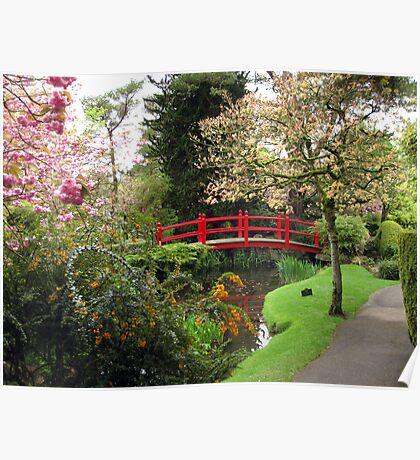 Japenese Gardens Poster