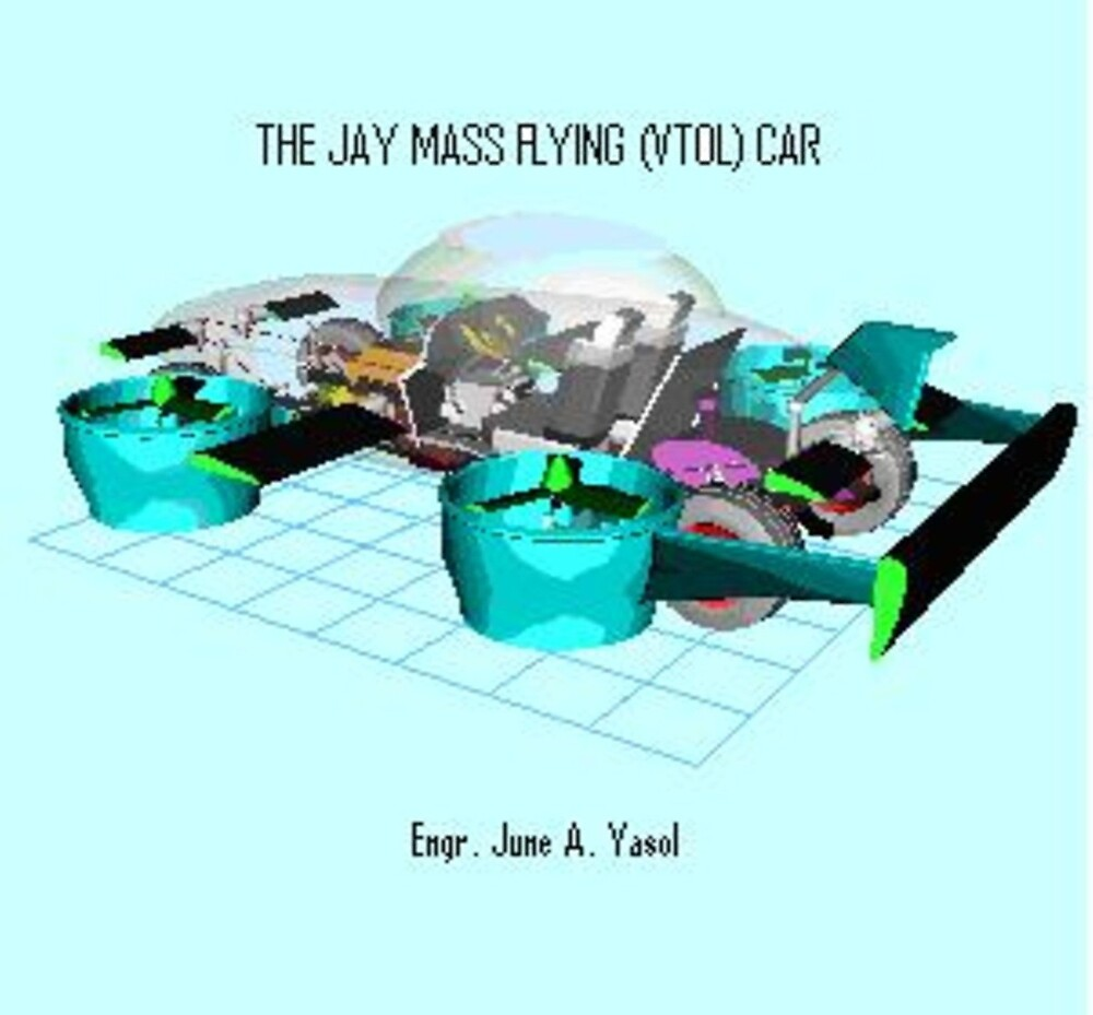 The JAY Flying Car Interior Transparency by ZyberDon