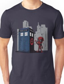 Defacing the Phonebox Unisex T-Shirt