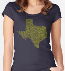 Deep In The Heart Women's Fitted Scoop T-Shirt