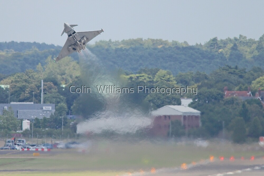 Typhoon Take Off - Farnborough 2014 by Colin  Williams Photography