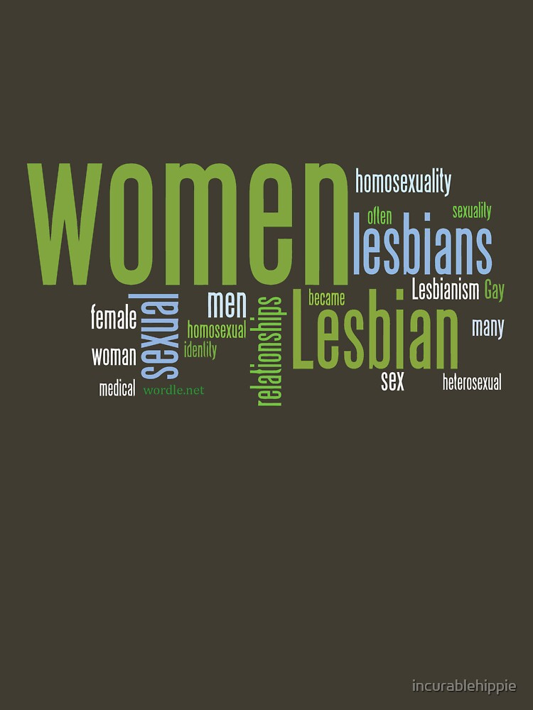 Lesbian Words by incurablehippie