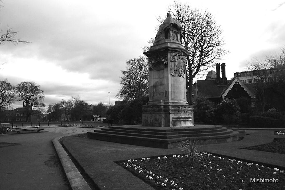 Queen Victoria Statue, Leeds England by Mishimoto