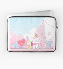 BT21 Spring Blossom Laptop Sleeve