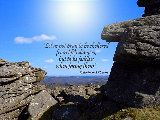 Dartmoor and Tagore by Charmiene Maxwell-Batten