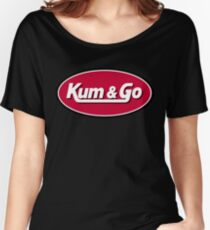 Kum & Go Logo Women's Relaxed Fit T-Shirt