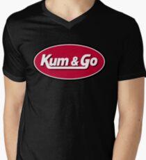Kum & Go Logo Men's V-Neck T-Shirt